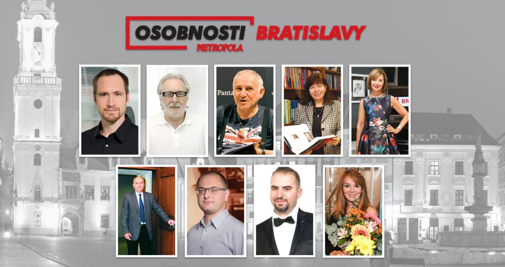 Predstavujeme vám laureátov projektu Osobnosti Bratislavy 2018